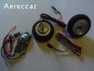 Freins électrique+roue 52 mm Neuf