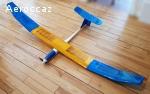 Motoplaneur électrique RC Omega Protech + commande Sanyo VG4